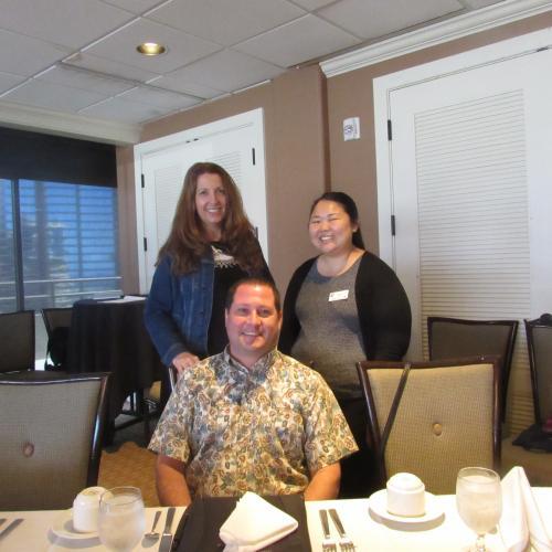 HAIP's finest: Josh German, Julie Kirk and Evelyn Hara