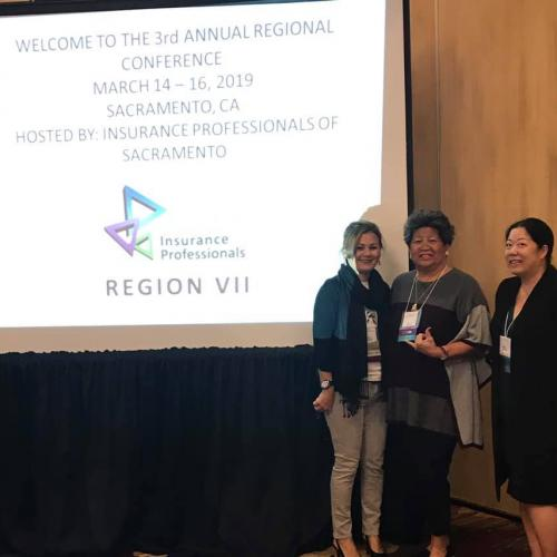HAIP members proudly attend the 2018-2019 Region VII Conference