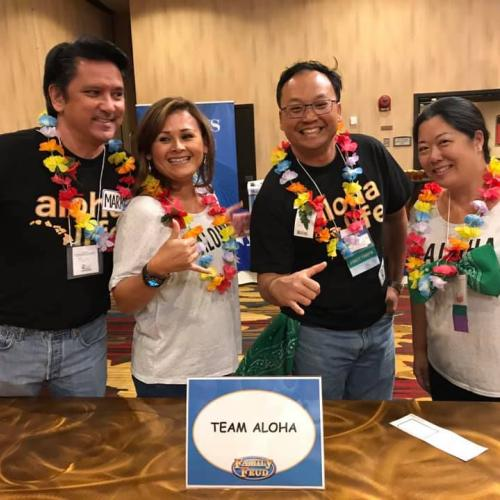 HAIP's Family Feud Team Aloha