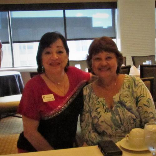 Ann Stephen and new member Desiree Koyanagi