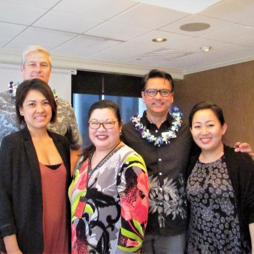 Visitors from Brown & Brown Honolulu