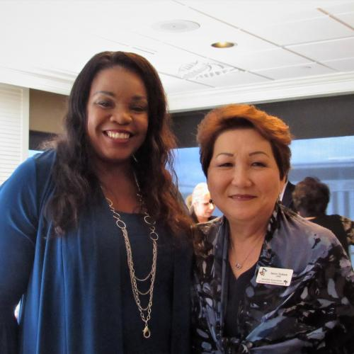 Chenise Blalock and Janice Tsukada