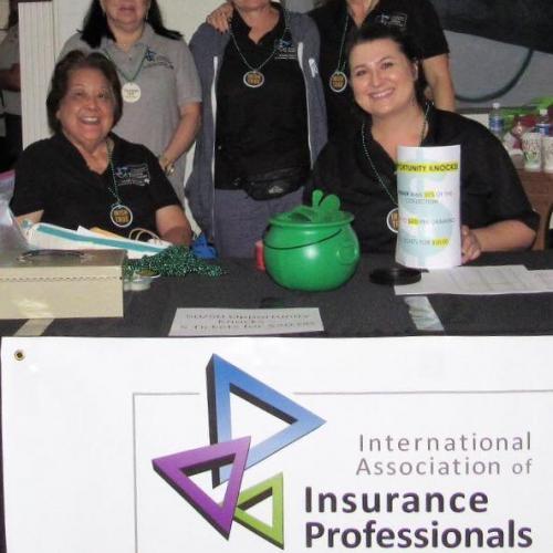 Our registration team of volunteers