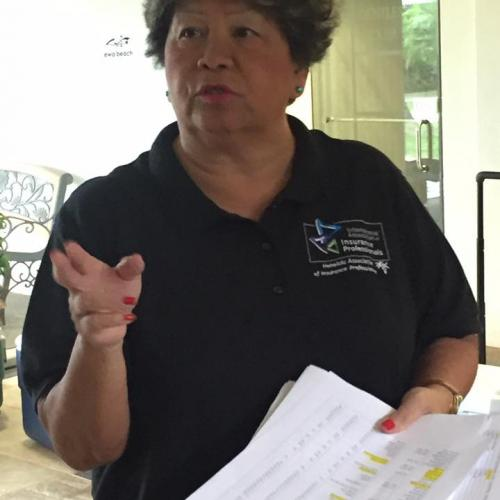 Our fearless leader and amazing golf chair, Martha Nobriga