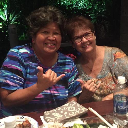 Martha Nobriga and Linda Ispen