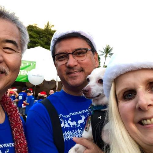 HAIP members with Governor Ige