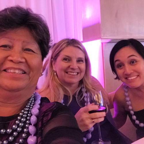 Martha, Leslie and Melissa