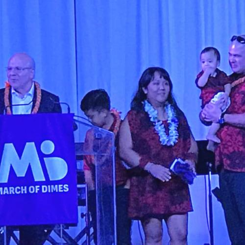 A local family shared their experience receiving assistance from the March of Dimes, very touching!