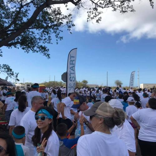 HAIP members joined hundreds of other participants for the fun event