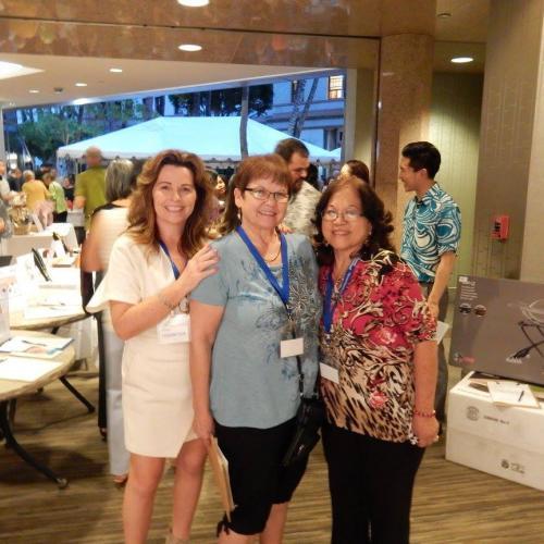 HAIP Members Linda Ipsen and Charlene Mizumoto volunteered at this wonderful event.