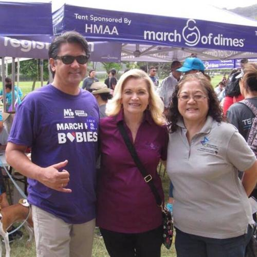 With March of Dimes Board Member